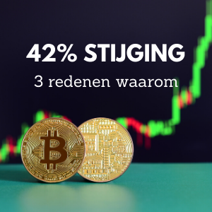 40% stijging van bitcoin