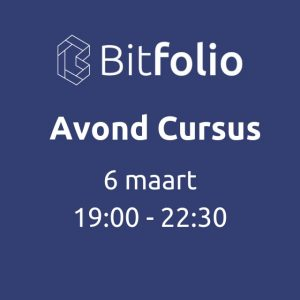 Bitfollio avond cursus