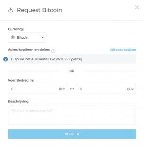 Hoe ontvang ik bitcoin met mijn adres