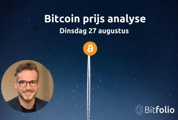 Bitcoin technische analyse Bitfolio