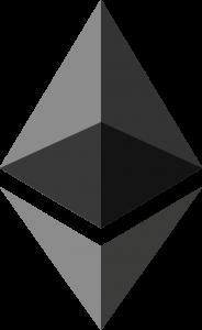 Ethereum logo voor wallet aanmaken