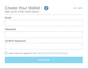 Bitcoin wallet aanmaken op blockchain.info