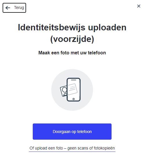 Bitcoin kopen via ideal ID