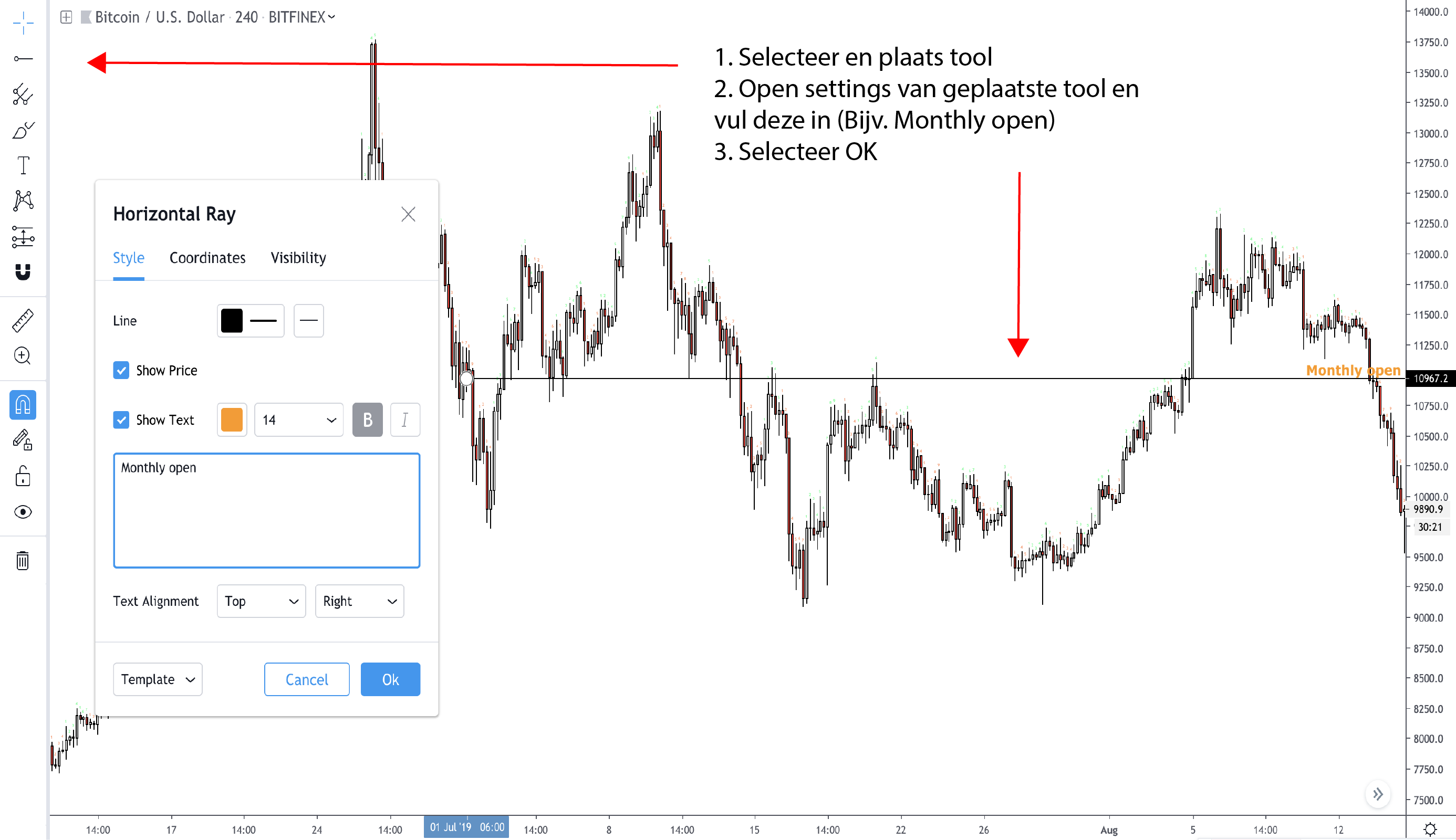 tradingview template