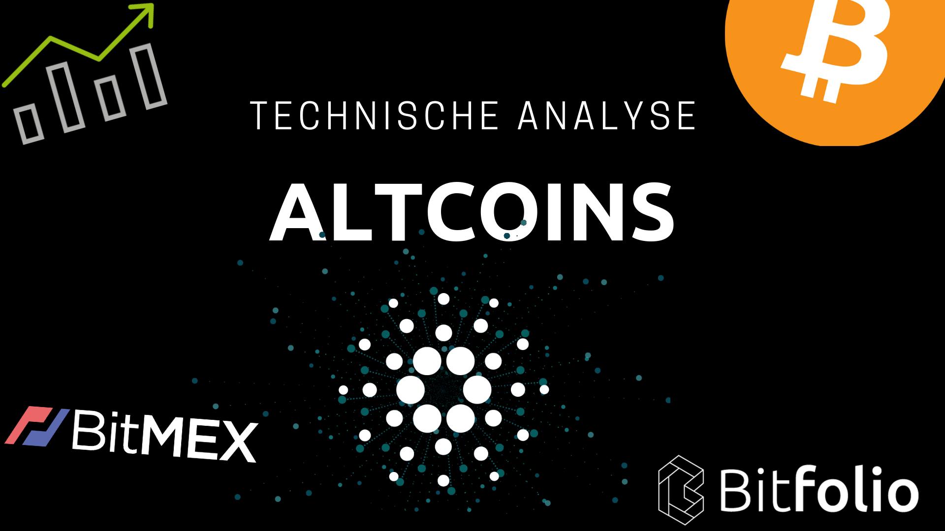 Bitfolio altcoin technische analyse